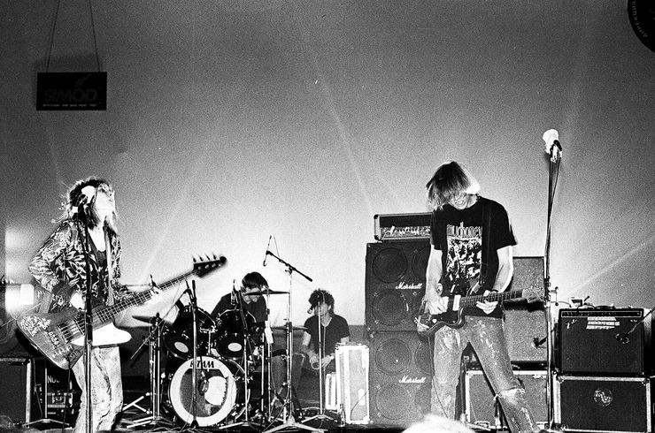 Sonic Youth live a Mosca