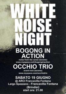 Occhio Trio, Bogong In Action, Francavilla