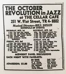 October Revolution Of Jazz