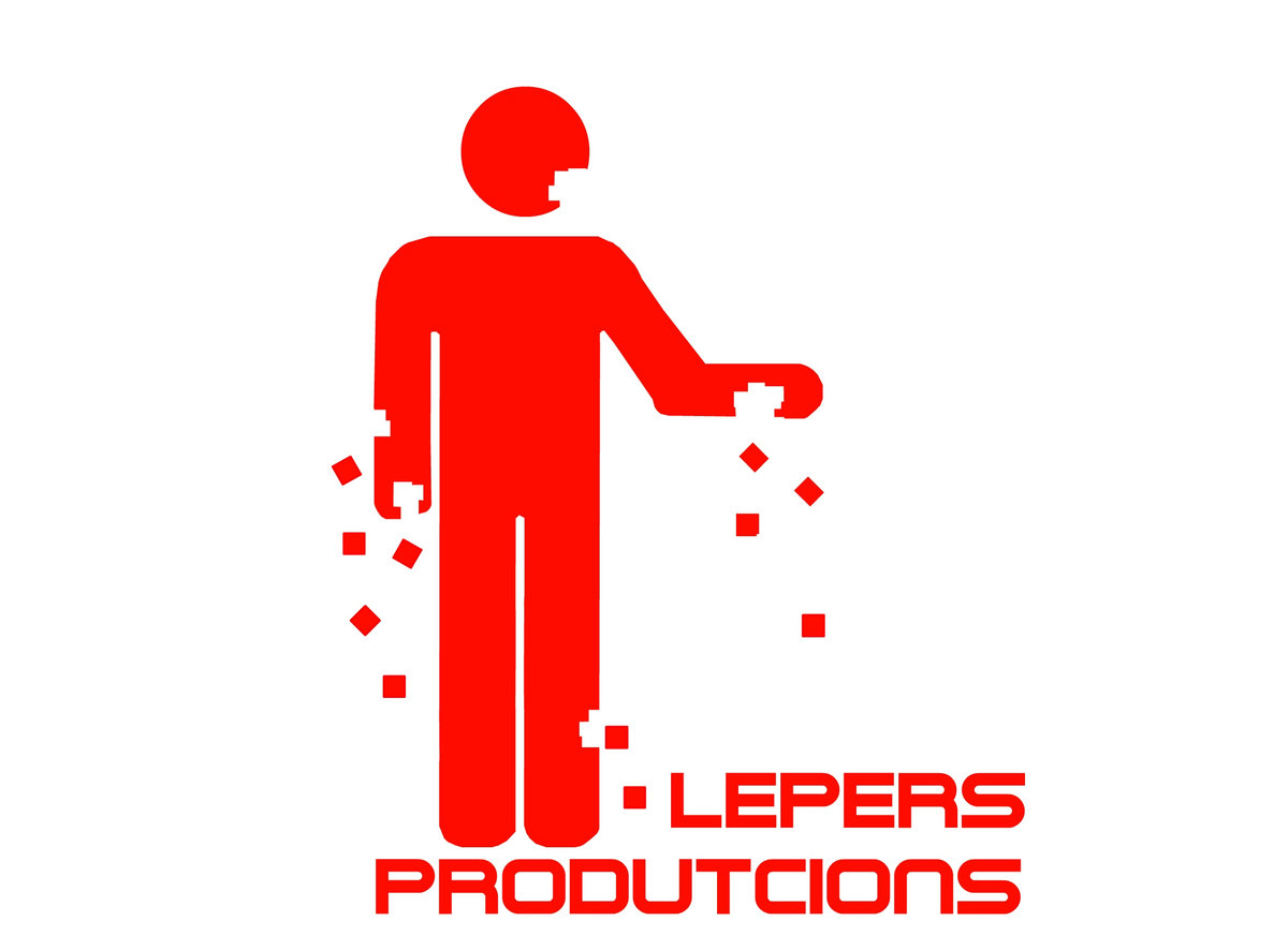 Logo Lepers Productions.