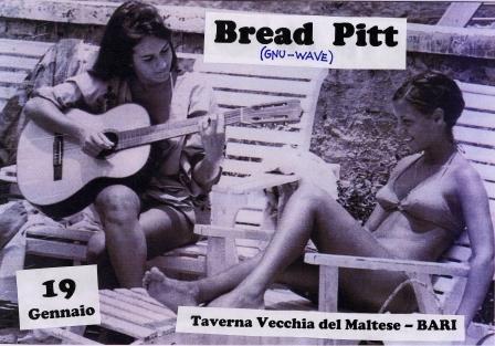 Bread Pitt flyer